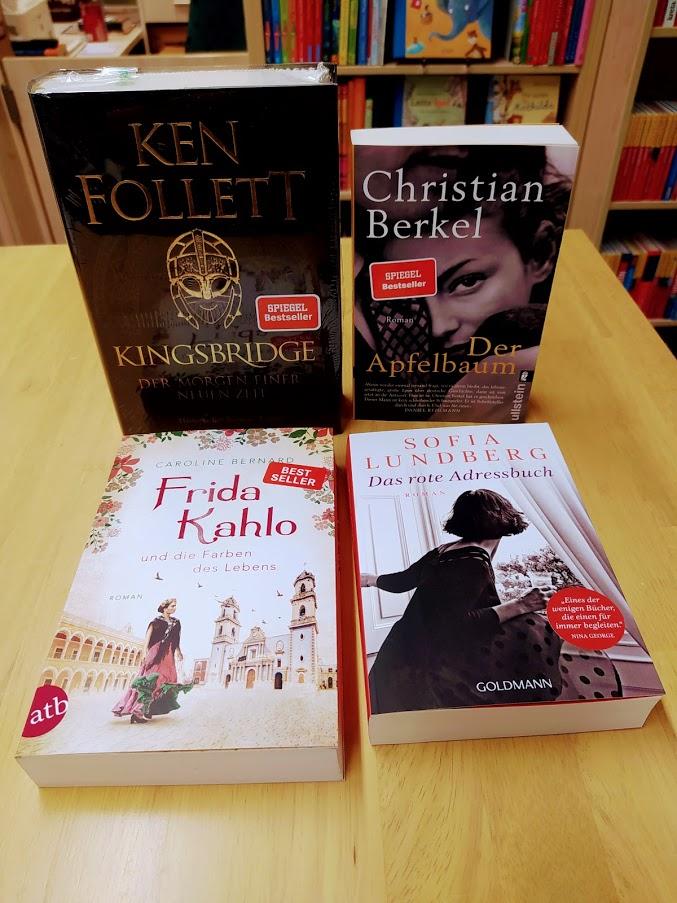 TOP 25 – Kurzbeschreibung historischer Romane
