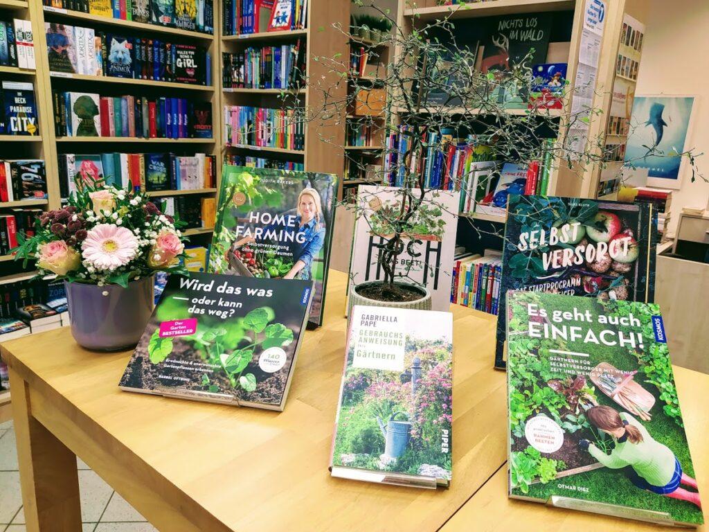 Gartenbücher für Anfänger