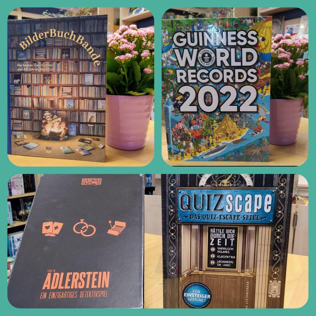 Krimi-Spiele, Guinness World Records 2022, BilderBuchBande